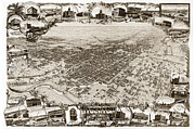 Stockton San Joaquin County California  1895 Print by California Views Mr Pat Hathaway Archives