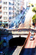 Wingsdomain Art and Photography - Stockton Street Tunnel San Francisco 7d7499wcstyle