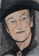 Connors Framed Prints - Stompin Tom Connors Framed Print by Betty-Anne McDonald
