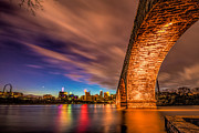 Minneapolis Skyline Prints - Stone Arch Minneapolis Print by Mark Goodman