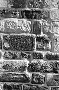 Stone Brick Wall Print by Jagdish Agarwal