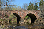 Manassas National Battlefield Park Photos - Stone Bridge by Dennis James