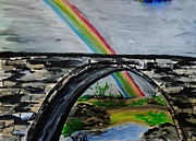 Marie Bulger - Stone Bridge with Rainbow