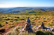 Adventure Photos - Stone Cairns by Carlos Caetano