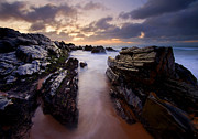 Fleurieu Peninsula Prints - Stone Channel Print by Mike  Dawson