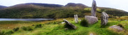 Celts Posters - Stone Circle Gleninchaquin Poster by Hugh Smith