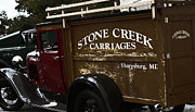 Carriages Posters - Stone Creek Carriages  Poster by Steven  Digman