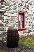 Old School House Photos - Stone by John Rizzuto