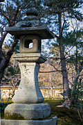 Natural Focal Point Photography - Stone Lantern in Kyoto...