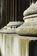 Honourable Framed Prints - Stone pillars concept of justice and strength Framed Print by Matthew Gibson