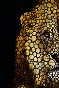 Sports Art Digital Art Prints - Stone Rockd Lion - Sharon Cummings Print by Sharon Cummings