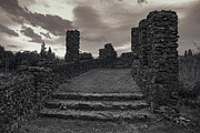 Spokane Prints - STONE RUINS at OLD LIBERTY PARK - SPOKANE WASHINGTON Print by Daniel Hagerman