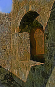 Ian  MacDonald - Stone Walls At Lambert Plantation