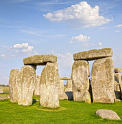 Wiltshire Framed Prints - Stonehenge  Framed Print by Colin and Linda McKie