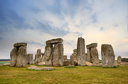 World Heritage Sites Posters - Stonehenge Poster by Joana Kruse