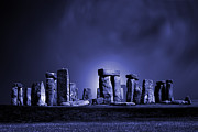 Briton Digital Art Prints - Stonehenge Print by John Wallace