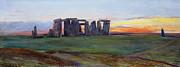 Stonehenge Print by John William Inchbold