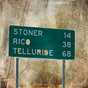 Stoner Rico Telluride Print by Janice Rae Pariza