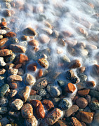 Large Format Prints - Stones in water Print by Efim Chernov