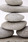 Stability Photos - Stones by Les Cunliffe