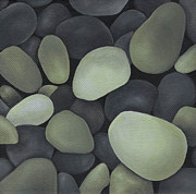 Stones Painting Originals - Stones by Natasha Denger