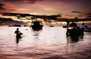 Pirates Photo Originals - StoneTown Magic Sunset by Amyn Nasser