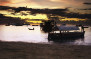 Pirates Photo Originals - StoneTown Sunset by Amyn Nasser