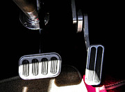 Brake Pedal Acrylic Prints - Stop and Go Acrylic Print by Christy Usilton