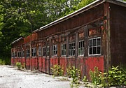 Abandonment Framed Prints - Storage Building Framed Print by Marcia Lee Jones