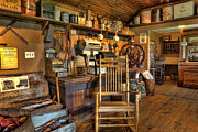 Goods Prints - Store - The American General Store Print by Lee Dos Santos