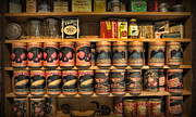 Goods Prints - Store - General Store Canned Provisions Print by Lee Dos Santos