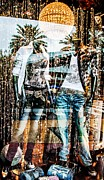Clothed Metal Prints - Store Window Display Metal Print by Rudy Umans