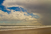 Storm Clouds Cape Cod Framed Prints - Storm Approaching Framed Print by Karol  Livote