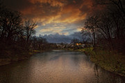 Pond Photography Photos - Storm Approaching by Marco Crupi