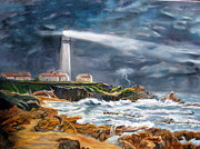 LaVonne Hand - Storm at Pigeon Point