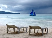 Lounge Photo Originals - Storm Beach by Ian Mcadie