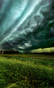 Winter Storm Posters - Storm Bound Poster by Phil Koch