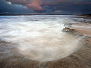 Fleurieu Peninsula Prints - Storm Bowl Print by Mike  Dawson
