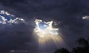 Storm Break Print by David Rizzo