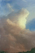 Impressionistic Oil Digital Art - Storm Brewing by Ingrid Beckman