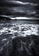 Pavement Prints - Storm Clearing Print by Mike  Dawson
