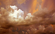 Storm Clouds Print by Andrea Kelley