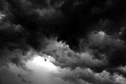 Light And Dark  Photo Prints - Storm clouds Print by David Lee Thompson