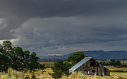 Barn Storm Prints - Storm Clouds Print by Mitch Shindelbower