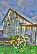 Barn Storm Prints - Storm Coming Print by Anita Hubbard