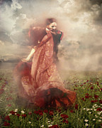 Romantic Movement Prints - Storm Dancer Print by Zeana Romanovna