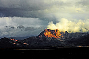 Storm Prints Prints - Storm in the Arizona Strip Print by John Langdon