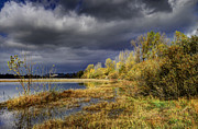 Fishing Creek Framed Prints - Storm incoming Framed Print by Ivan Slosar