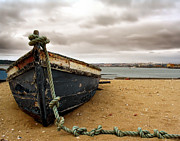 Wooden Boat Photos - Storm is Comming by Jose Elias - Sofia Pereira
