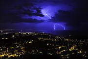 Storm Print by Maksims Novikovs